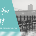 Manage energy when the pressure is on