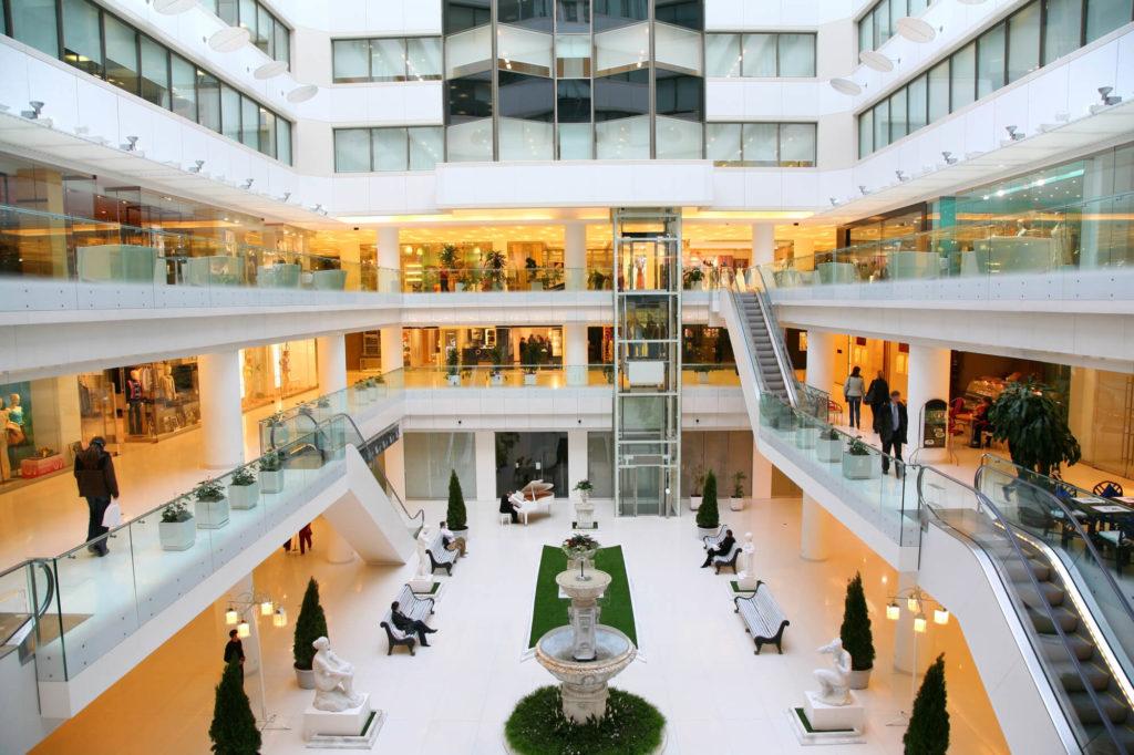 Shopping Centre Interior