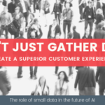 Small data and customer experience