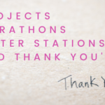 Projects Marathons Water Stations Thank Yous | 6R Retail Pty Ltd